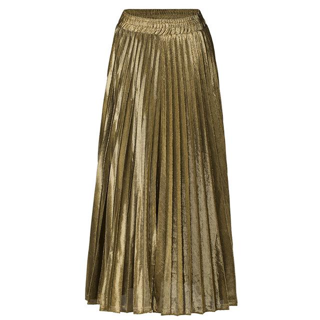 Z&I váy Túi xách giúp mùa xuân hè 2019 váy đầm xếp li mới bán buôn Châu Âu và Hoa Kỳ size lớn eo cao