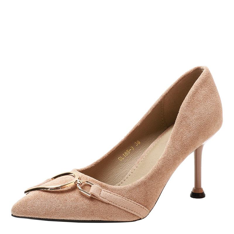 ZUZIMEI Giày FuJian Túi kẹp tóc SL188-3, 862-6 Giày nữ thời trang thấp giúp giày cao gót nữ 2019 mùa