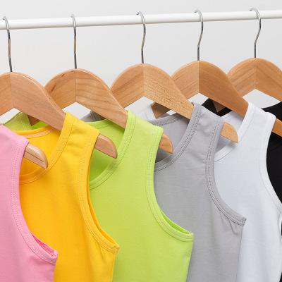 Áo ba lỗ  / Áo hai dây trẻ em Áo khoác nam và nữ, quần cotton trẻ em mùa hè, quần trẻ em nhỏ và vừa,