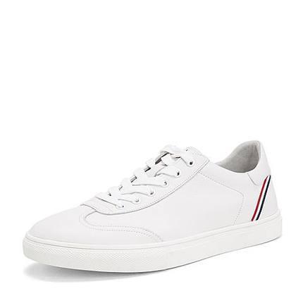BELLE  Giày trắng nữ Giày nam Belle 2019 trung tâm mua sắm mùa thu đông mới với các mẫu giày da nam