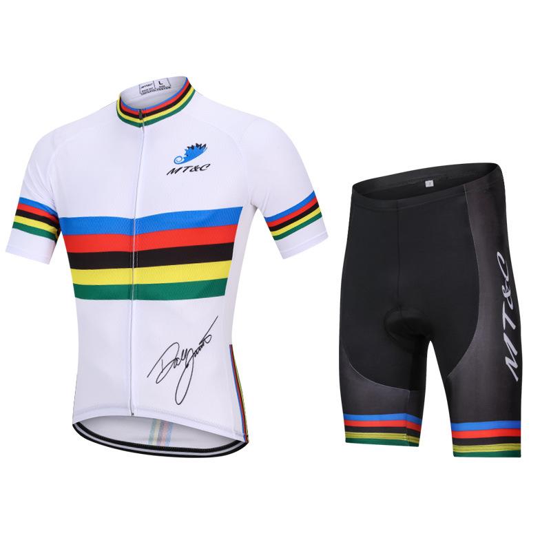MT&C Trang phục xe đạp 2019 MT & C mới xe đạp leo núi mới Jersey phù hợp với nam và nữ cung cấp xe đ