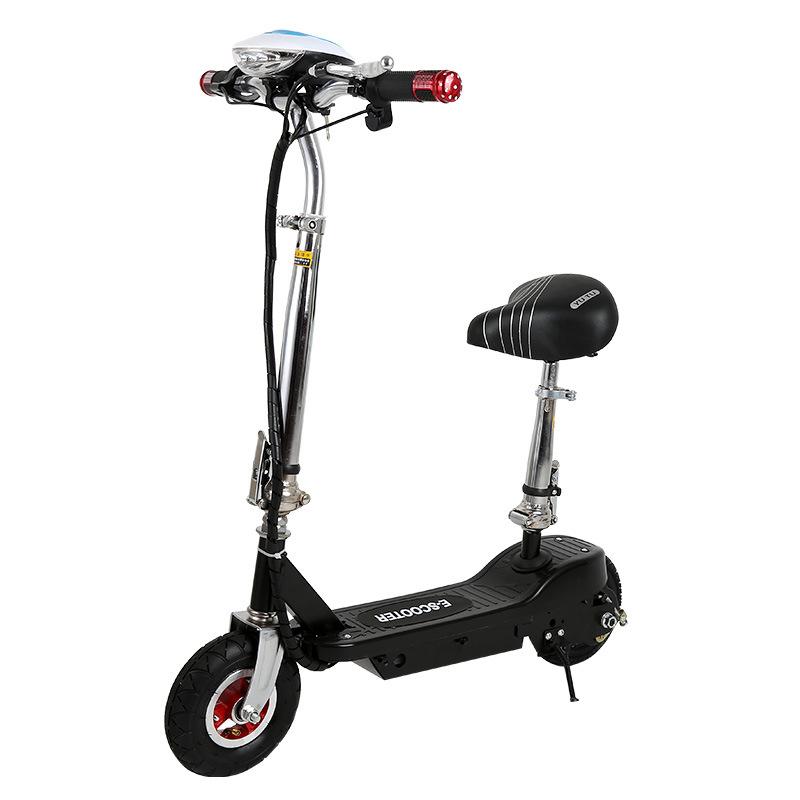 Xe tay ga điện gấp dành cho người lớn cỡ mini .