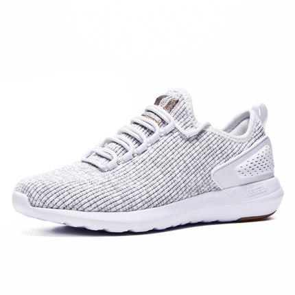 361 Giày lưới  361 giày chạy bộ giày nữ 2019 mùa thu thoáng khí giày thể thao lưới giày nhẹ bay dệt