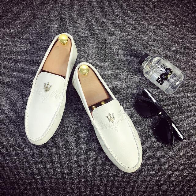ZULISHI Giày mọi đế thấp Túi tóc giúp mùa xuân Phiên bản Hàn Quốc của xu hướng giày nam Giày thông t