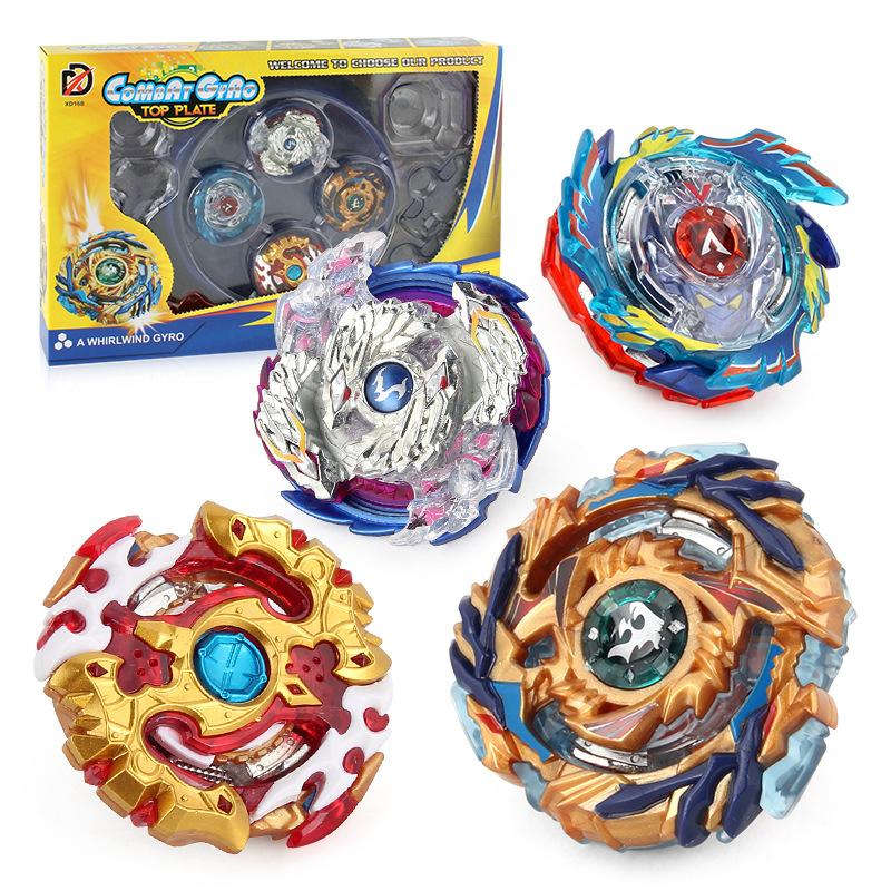 Chengke toys - Bông vụ con quay với đĩa chiến đấu cạnh tranh thiết lập kết hợp khởi động đồ chơi