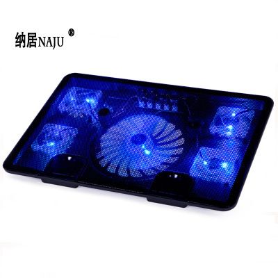 NAJU bộ tản nhiệt Naju N5 máy tính xách tay làm mát máy tính xách tay 14 inch 15,6 inch khung làm má