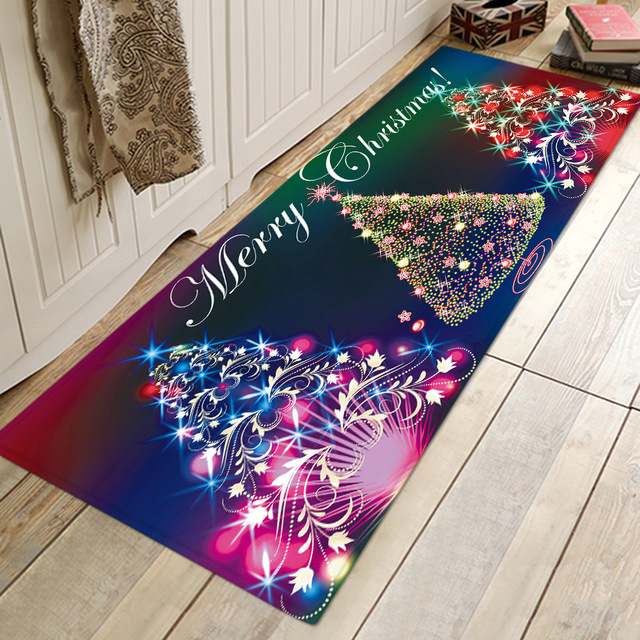 Thảm Lót chân hình giáng sinh cho phòng tắm , nhà bếp .