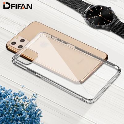DFIFAN bao da điện thoại Áp dụng vỏ điện thoại di động iphone11 mới Apple 11PRO ba bộ điện thoại chố