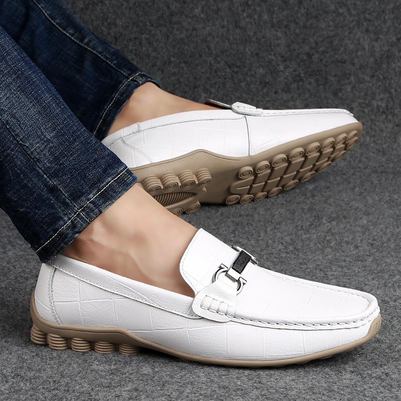 Giày mọi Gommino Túi tóc giúp mùa hè mới giản dị giày nam thời trang giày đậu Hà Lan Giày thông thườ