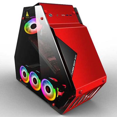 WANJIA Bán buôn cao cấp Internet cafe thủy tinh nước lạnh mạng máy tính để bàn máy chủ tam giác hộp