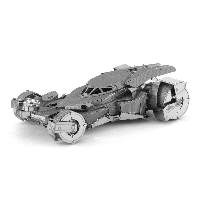 Tranh xếp hình 3D Kim loại DIY Lắp ráp Mô hình 3D Câu đố 3D Bat Movie Man Justice Dawn vs Superman