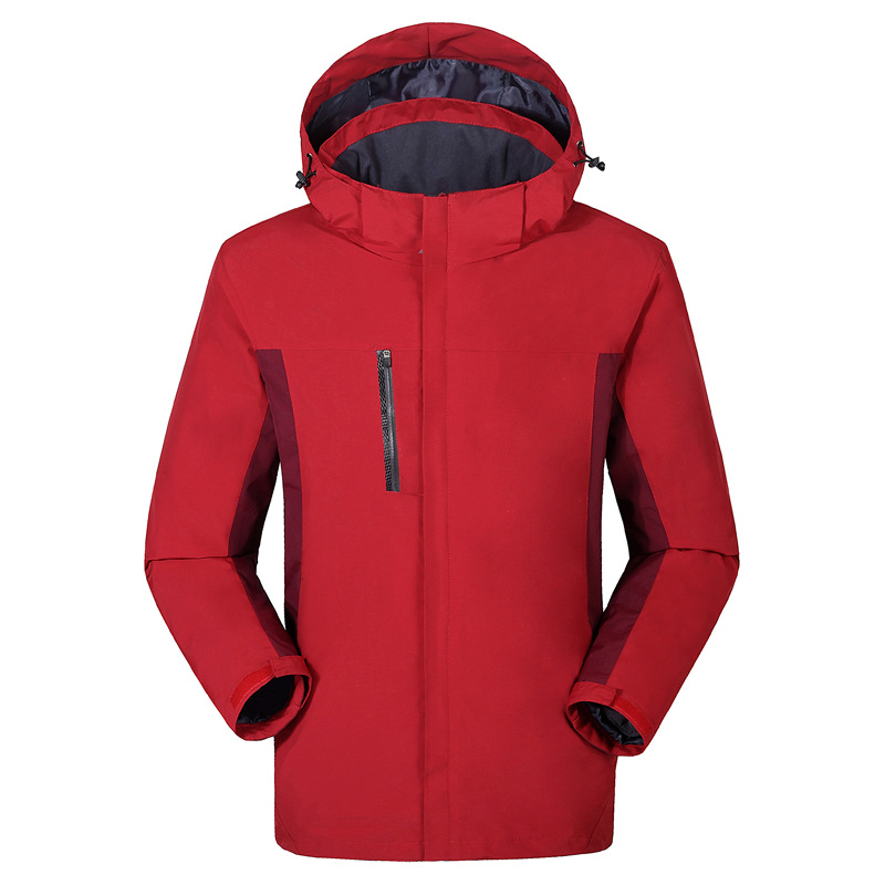 Lót nỉ Soflshell Nhà máy trực tiếp C02 Tyson Wolf áo khoác không thấm nước lông cừu hai mảnh ba tron