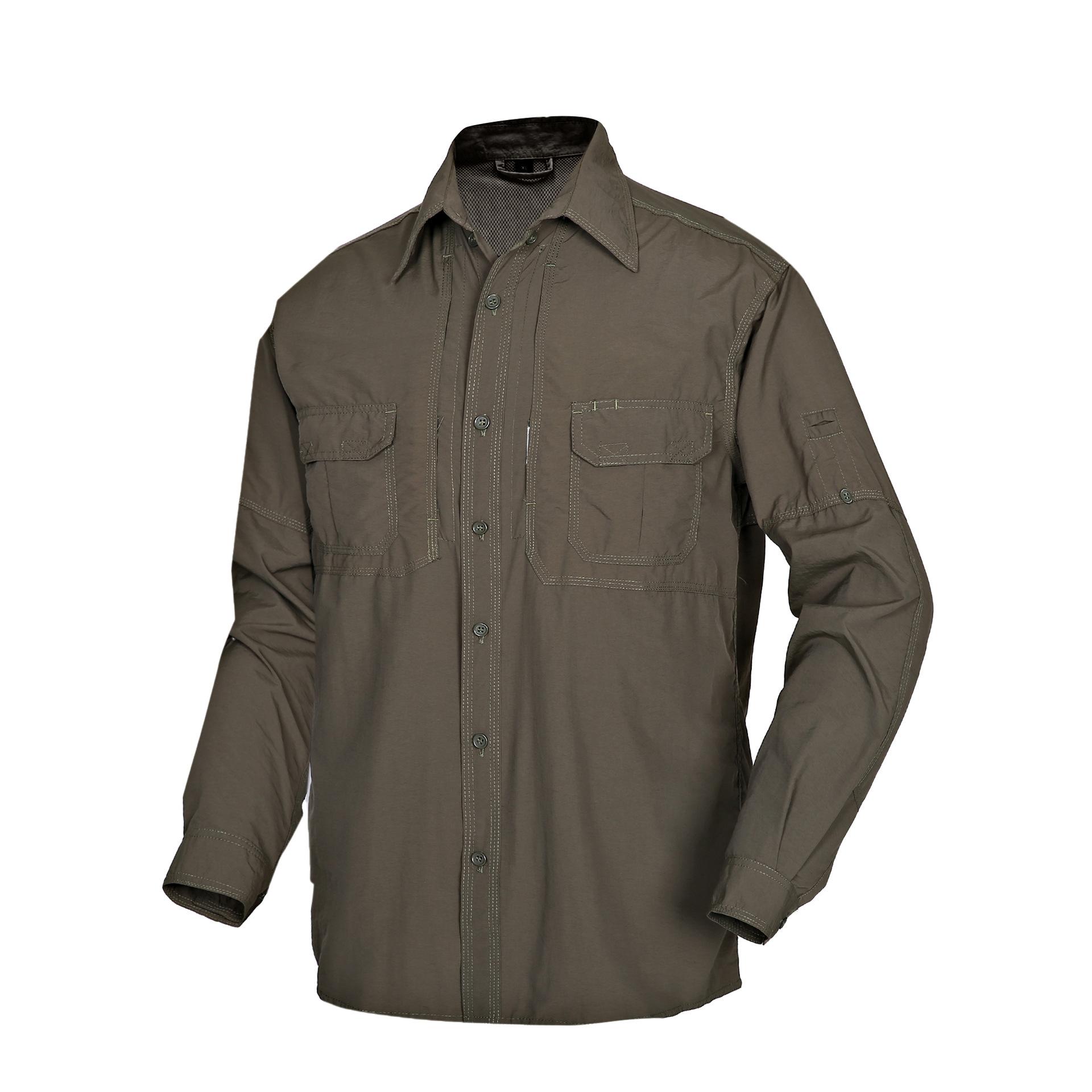 5.56 Đồ chống nắng mau khô Túi kẹp tóc 5,56 nam dài tay da quần áo nửa tay áo sử dụng áo chống nắng