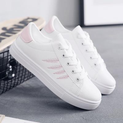 Khác Giày Loafer / giày lười Giày trắng nhỏ nữ 2019 mới xuân hè thu nhỏ đường phố chụp giày sinh viê