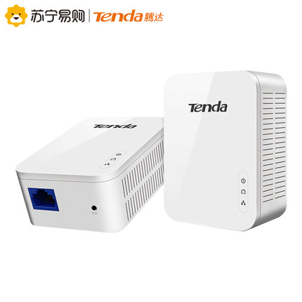 Powerline PLC Tenda Tennda PH3 Gigabit đã điện thoại mèo nhà hai khoang qua bức tường, tần suất p
