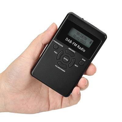 HRD Máy Radio Đài phát thanh kỹ thuật số Dab thu hai băng tần tích hợp pin lithium âm thanh nổi quạt