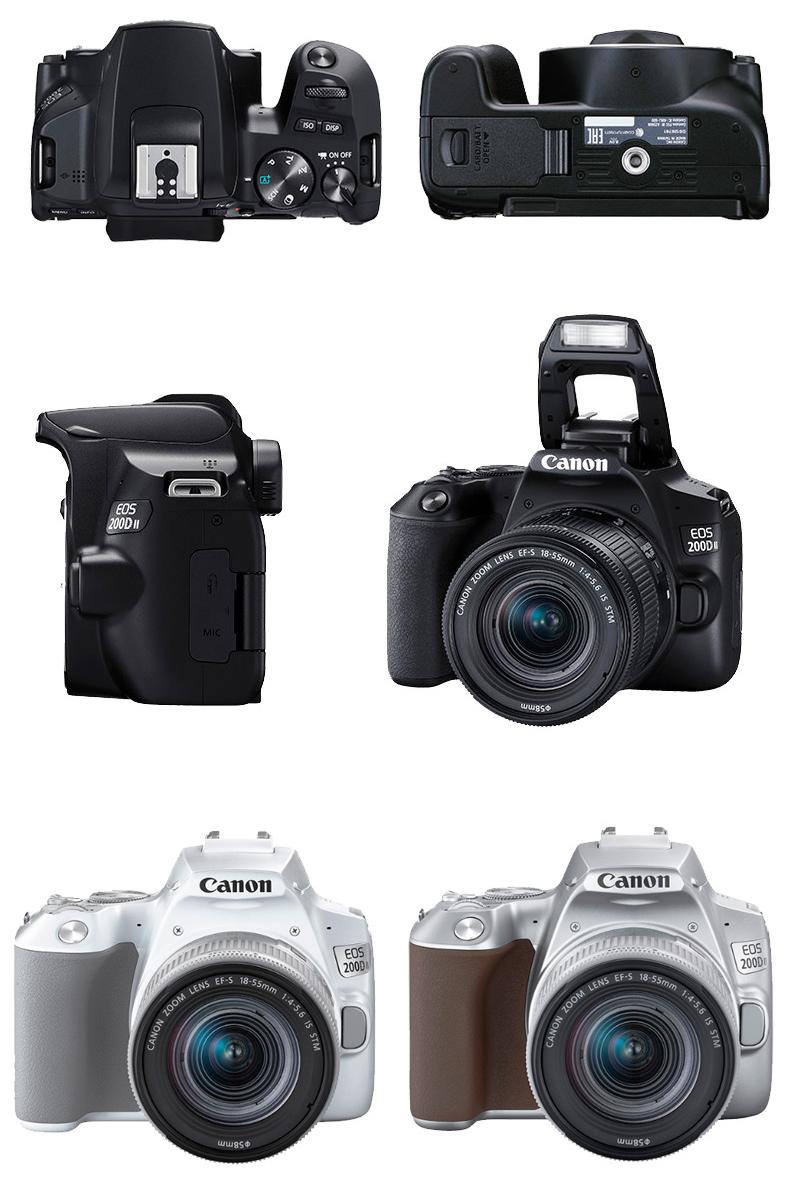 Mục: Canon EOS 200D II 18-5 lần thứ hai hệ thống máy ảnh SLR đã được quay vlog nhập lớp 4K