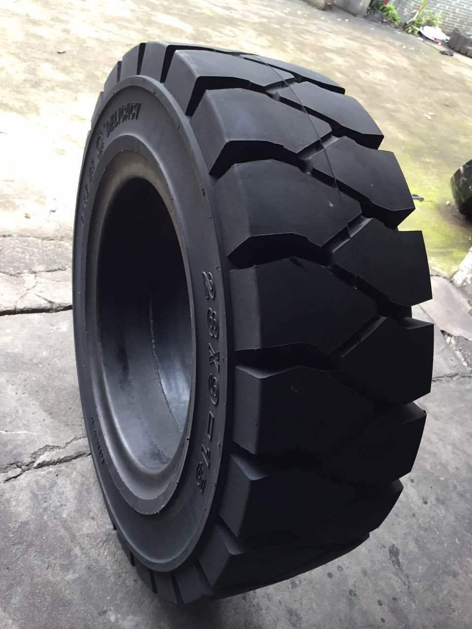 Cao su(lốp xe tải) Xe nâng hàng loạt lốp đặc biệt Loại tiêu chuẩn Loại nâng cao Hoàn thành bán buôn