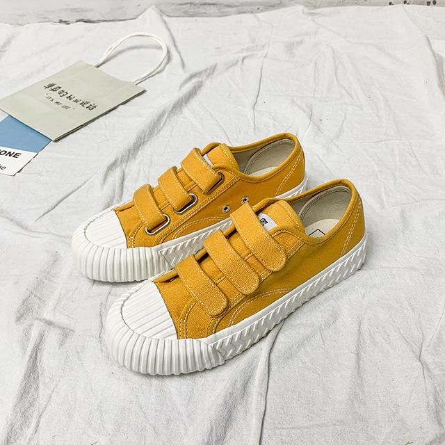 BANGNAI giày vải Túi kẹp tóc Bangnai mùa xuân mới giày bỉm nữ phiên bản Hàn Quốc của giày vải phong