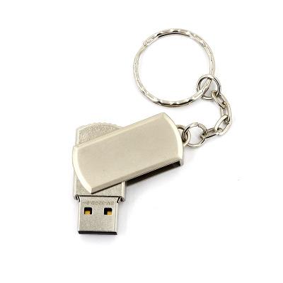 smare USB u đĩa bán buôn tùy chỉnh sáng tạo kim loại u quà tặng đĩa U quay 8g 16g 32g 64g luân chuyể