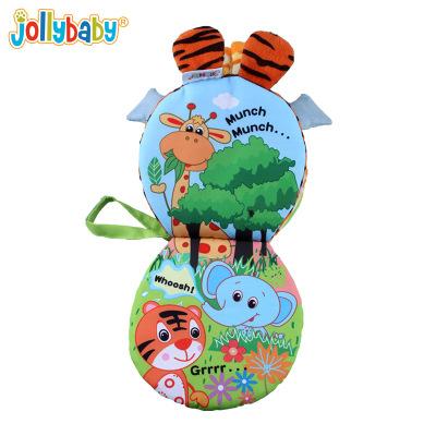 Cuốn sách động vật chân vải giáo dục sớm cho bé - jollybaby