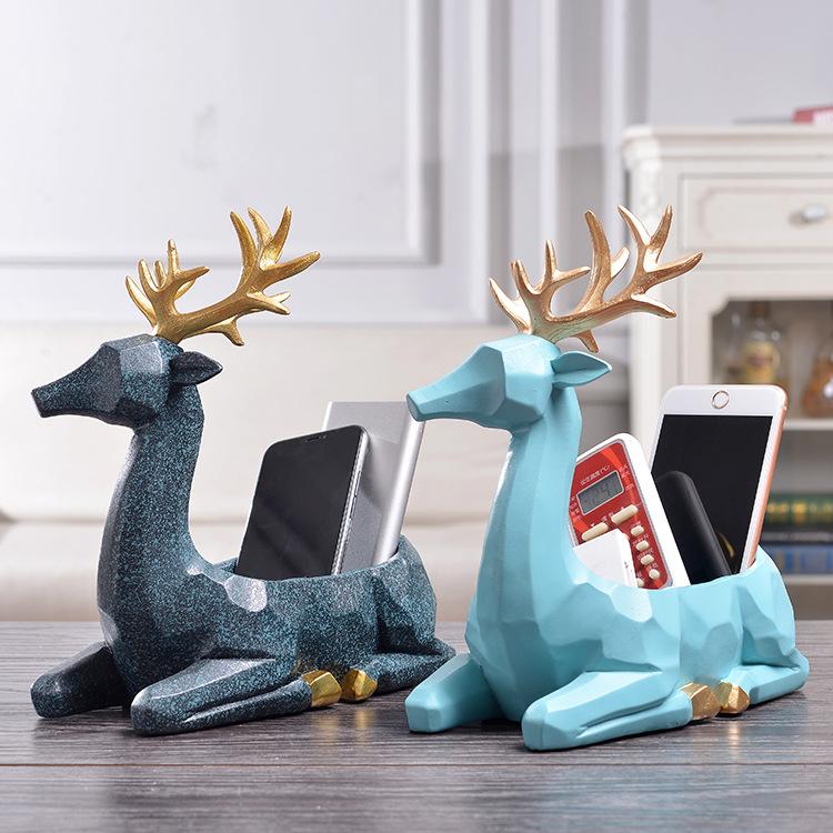 CHENGXIN Đồ trang trí bằng gốm sứ Nhựa thủ công đơn giản hiện đại sáng tạo