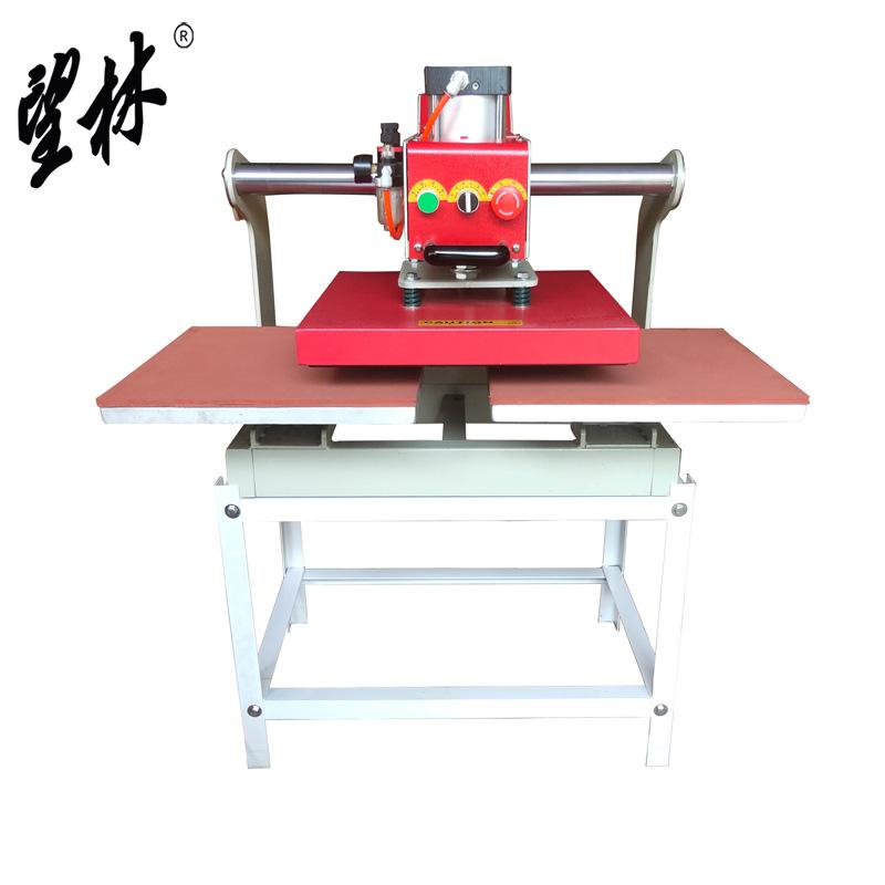 Wanglin Máy móc khí nén đôi trạm áo thun nóng máy 4040 truyền nhiệt có thể được đặt vào máy may truy
