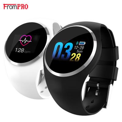 FROMPRO Đồng hồ thông minh Q1 màu màn hình tròn màn hình vòng đeo tay thông minh IP68 không thấm nướ