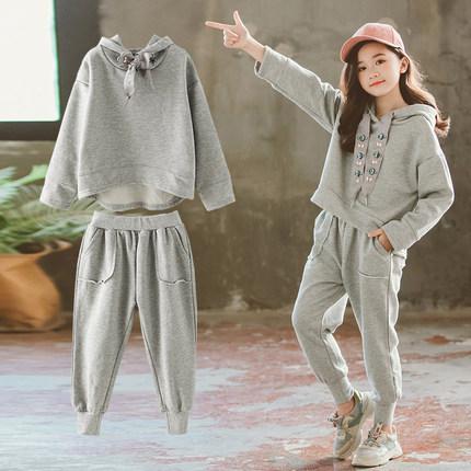 CadierHepburm  Đồ Suits trẻ em  Bộ đồ bé gái 2019 xuân hè mới quần áo trẻ em cực kỳ thời trang nước