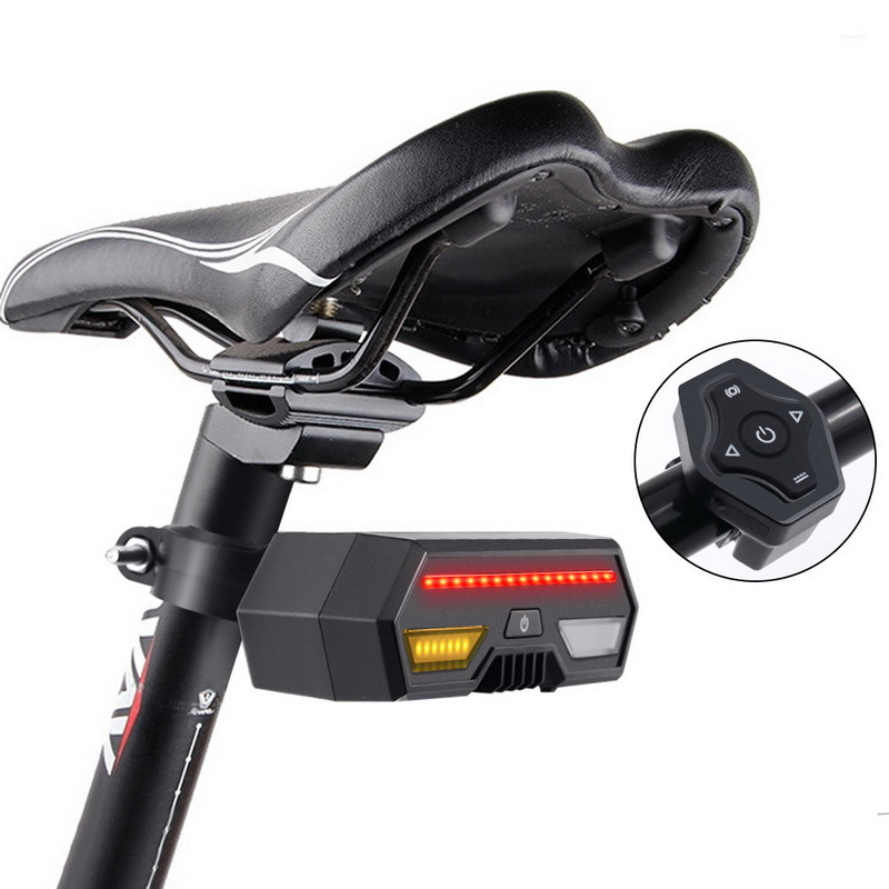 Đuôi đèn led bật tín hiệu cho xe đạp leo núi - LP1801