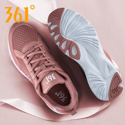 361 Giày lưới  Giày thể thao 361 Giày nữ mùa đông 2019 mới chính hãng Giày thông thường lưới thoáng
