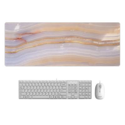 AILONG Thảm lót chuột Một thế hệ sáng tạo bàn màu đá cẩm thạch phim hoạt hình chuột văn phòng pad ma