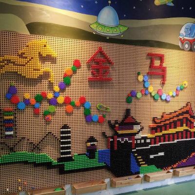 Bộ đồ chơi lắp ráp chèn hình dành cho trẻ em .