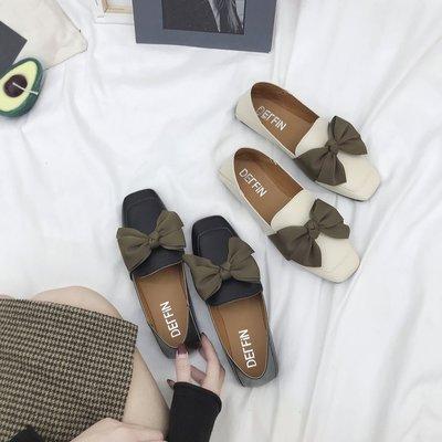 Giày Loafer / giày lười Giày xuân mới 2019 đơn nữ phiên bản Hàn Quốc của giày nhỏ hoang dã Anh gió d