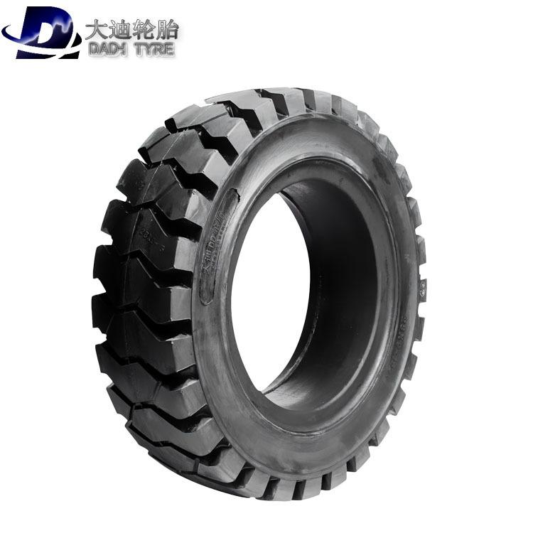DADI Cao su(lốp xe tải) Lốp xe 650-10 lốp đặc 28x9-15 chống sốc lốp bảo vệ môi trường chống mòn khôn