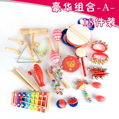 Bộ đồ chơi nhạc cụ bằng Gỗ cho bé yêu .