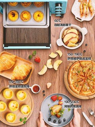 Midea Lò vi sóng, lò nướng Lò nướng đẹp PT2500 tại nhà nướng bánh nhỏ đa chức năng bánh tự động chuy