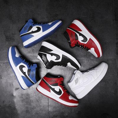 Giày FuJian Giày bóng rổ mùa thu và mùa đông cao để giúp giày nam Air Force số 1 nam aj1 giày thể th
