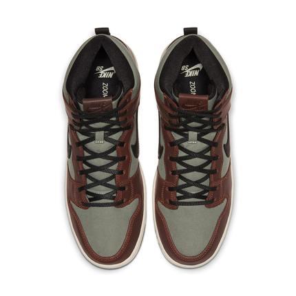 Nike Giày Sneaker / Giày trượt ván Nike Nike chính thức SB DUNK HIGH PRO giày skate nam / nữ cao để