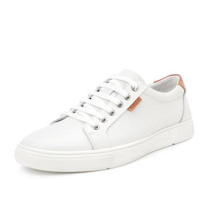 BELLE  Giày trắng nữ Trung tâm mua sắm giày nam Belle với đoạn 2019 mùa thu mới giày nam giản dị Già