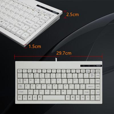 XINGEPAI Bàn phím Bàn phím có dây C-59 PS / 2 Giao diện USB Bàn phím công nghiệp điều khiển máy Bàn
