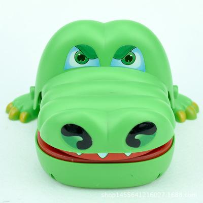 Kỳ nghỉ mới Đồ chơi khăm Mới cá sấu đồ chơi cá mập nhổ răng toàn bộ Sáng tạo vui vẻ trẻ em cha mẹ-co