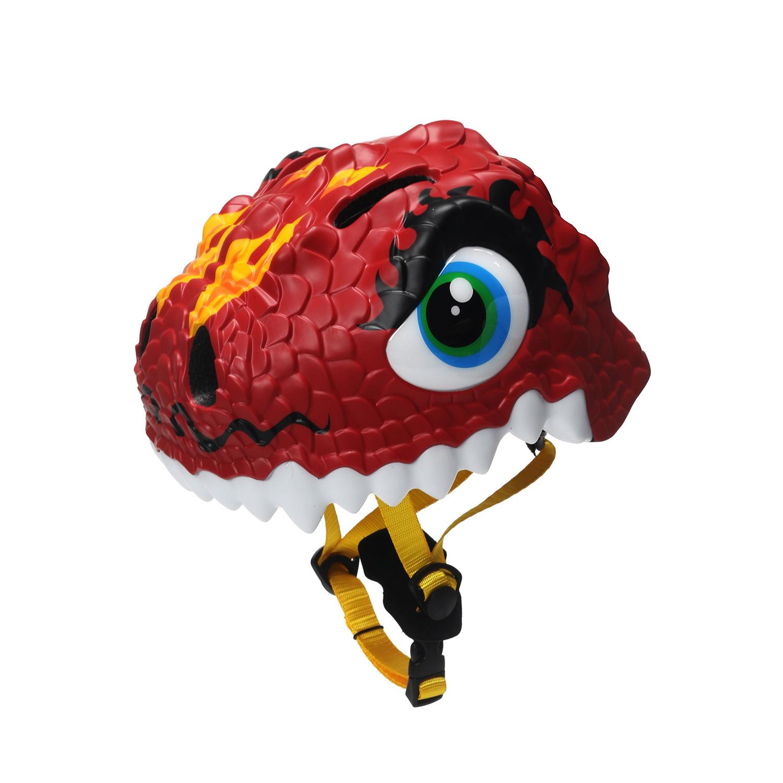 XINTOWN Mũ bảo hiểm xe đạp Star Heng cưỡi trẻ em mũ bảo hiểm khủng long mới mũ bảo hiểm xe đạp mũ tr