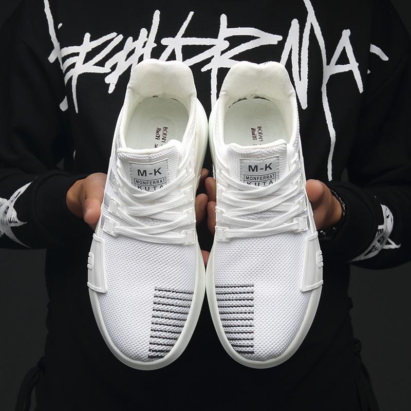 Giày lưới 2019 mùa thu và mùa đông giày nam mới giày dừa hoang dã giày nam bình thường giày thể thao