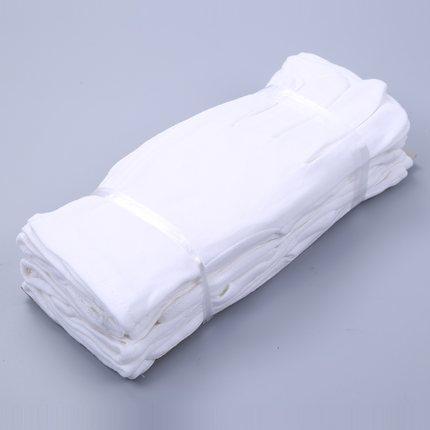 Vải Jersey Găng tay trắng nghi thức lao động găng tay wenwan bông nguyên chất trắng hạt đánh giá côn