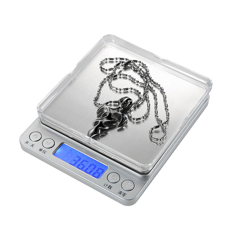 JIAOZHONG Cân điện tử Cân điện tử 0,01g gram Cân cân hộ gia đình mini bếp nướng trang sức quy mô bỏ