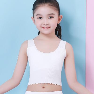 Trống Mori Áo ba lỗ  / Áo hai dây trẻ em 2019 Xiazhong big boy phát triển thời gian modal liền mạch