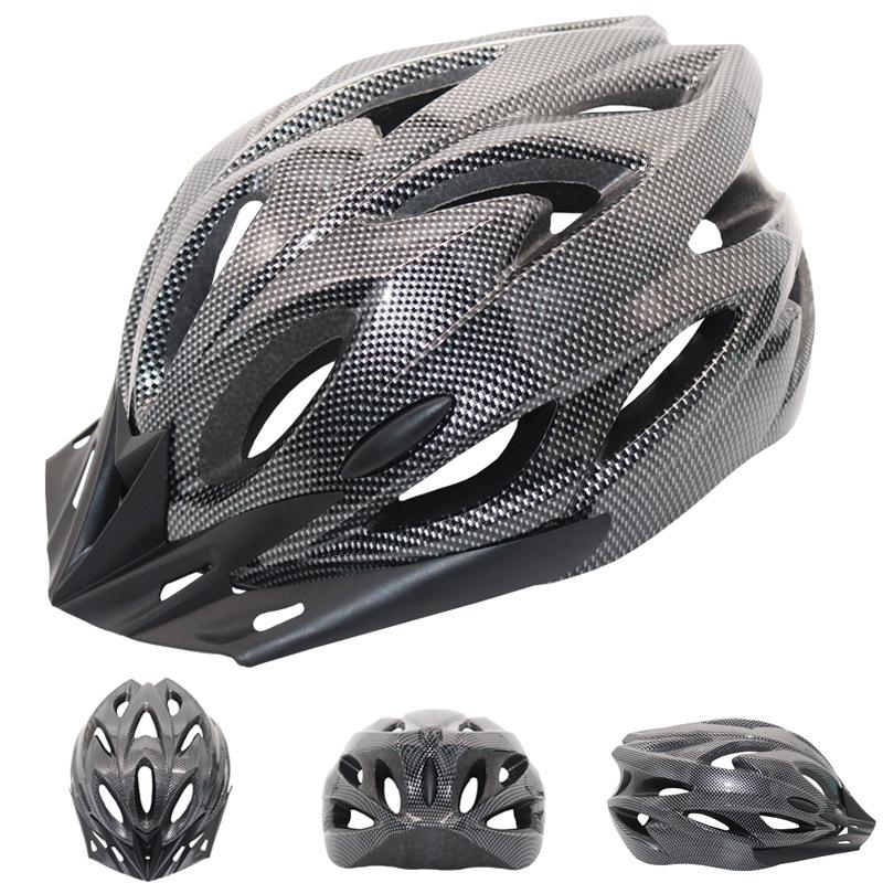 Mũ bảo hiểm xe đạp bốn mùa cưỡi mũ bảo hiểm siêu di động xe đạp leo núi một mảnh mũ cứng nam và nữ