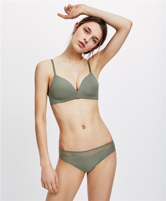 Vertu Love Đồ lót cotton mỏng với loại áo ngực không gọng .
