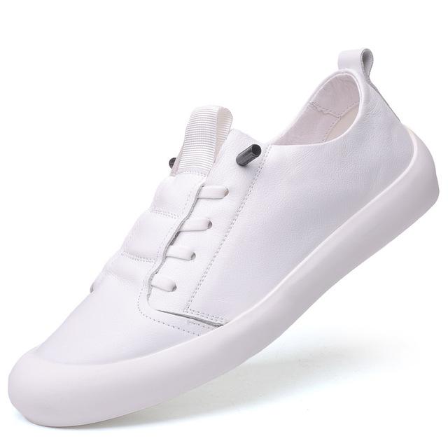 Giày trắng nữ Thời trang Hàn Quốc giày trắng nam xu hướng giày hoang dã Giày nam màu đen